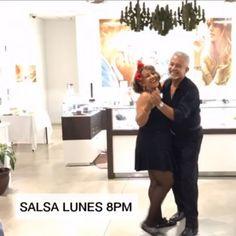 HOY LUNES DE SALSA PARA ADULTOS  — Hoy lunes te esperamos para que disfrutes de la primera clase gratis de Salsa para Adultos a las 8 pm.   Llama y separa tu espacio. Nuestro horario es de 5-9:00 pm.   Te esperamos.