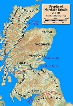 The Kingdom of Pictland first Kingdom of Scotland.  Unification of Dal Riata and Pictland under House of Alpin as new Kingdom of Alba.