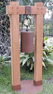 Fitness gift ideas [for beginners and freaks] Temple Bells, Yard Sculptures, Metal Art Projects, Asian Garden, Tower Garden, Landscape Walls, Backyard Projects, Garden Ornaments, Planter Boxes