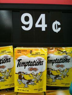 Temptations Treats for Cats Only $.44 at Walmart - http://yeswecoupon.com/temptations-treats-for-cats-only-44-at-walmart/