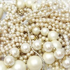 perles- adoro las perlas<3