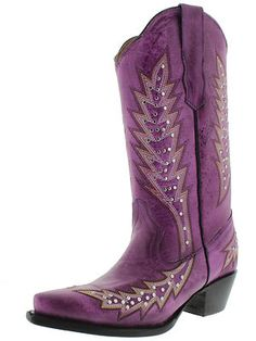 Women's ladies fancy studded leather western dance rodeo cowboy boots new 2013