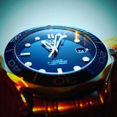 The deep blue seamaster