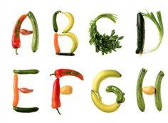 The Vegetable Alphabet - logo