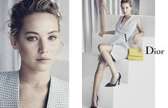 Dior Spring/Summer 2015 - Jennifer Lawrence photographed by Paolo Roversi