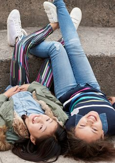 【Kids Girl】 (左) 3 in 1パーカー/ID:232699  デニムシャツ/ID:331217 ※一部限定店舗での取扱い…