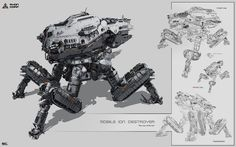 Cyber-Mecha | maquettes & science-fiction | Page 4