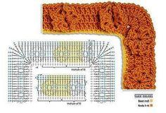 Materiales gráficos Gaby: 42 Modelos de puntillas en ganchillo