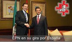 EPN en España.