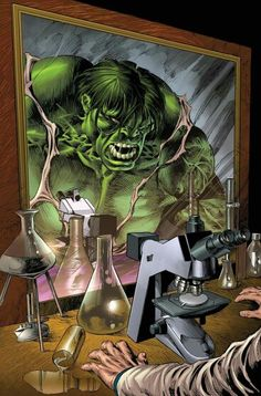 Bruce Banner & Hulk by Mike Deodato Jr. Comic Book Characters, Comic Book Heroes, Marvel Characters, Comic Character, Marvel Comics, Hulk Marvel, Marvel Heroes, Hulk Avengers, The Darkness