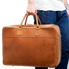 Libero Ferrero Italian elegance meets modern convenience in luggage handmade in Chicago