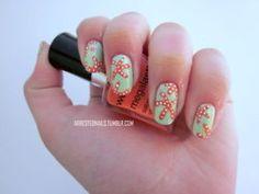Starfish Nails @Chanda Siler