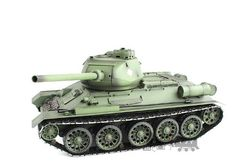 Hobby RC Tanks - 24Ghz Radio Control 116 Russian T3485 Air Soft RC Battle Tank Smoke  Sound Upgrade Version w Metal Gear  Tracks -- For more information, visit image link.