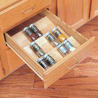 Rev-a-Shelf Wood Spice Drawer Insert