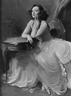 Actress and singer Anny Ahlers painted by Philip de László, unfinished at the time of her death in 1933 Historical Photos, Street Art, Death, Singer, Sculpture, World, Windsor, Royals, Painting