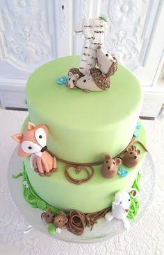 Purppurahelmi: Metsän eläimet ja 1v juhlat Birthday Cake, Cakes, Desserts, Food, Tailgate Desserts, Deserts, Cake Makers, Birthday Cakes, Kuchen