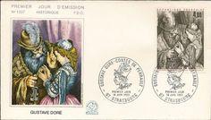 Timbre : 1983 GUSTAVE DORÉ - CONTES DE PERRAULT   WikiTimbres