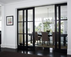 Glass Sliding Pocket Door Design, Pictures, Remodel, Decor and Ideas - page 4