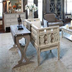 Gabby Furniture Nathalie Table #laylagrayce #gabbyfurnishings