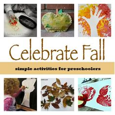 14 fun fall activities that preschoolers love! From Teaching 2 and 3 Year Olds