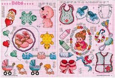 baby cross stitch charts