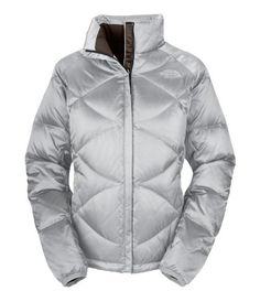 The North Face Aconcagua Jacket Metallic Silver Womens (bestseller)