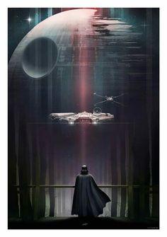Pôster épico—Vader