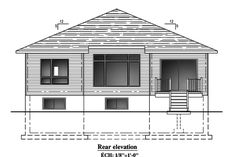 This lovely Bungalow style home with Contemporary influences (House Plan has 1325 square feet of living space. The 1 story floor plan includes 2 bedrooms. Bungalow House Plans, Building A House, Living Spaces, New Homes, Floor Plans, Flooring, Contemporary, How To Plan, Architecture