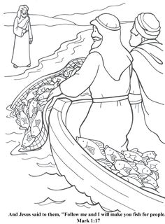 Fisher's of Men Coloring Page