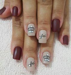 Beauty Nails, Hair Beauty, Nail Art Galleries, Nail Arts, Nail Designs, Nail Polish, Dark Nails, Hair And Nails, Art Nails