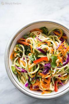 Asian Zucchini Noodl...