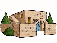Free Graphics: Bible clip art: Buildings and structures including the ark, a well, an altar, a tomb & Bible Story Crafts, Bible Stories, Free Christian Clip Art, Art Deco Home, Sunday School Crafts, Kids Church, Bible Lessons, Bible Art, A Christmas Story