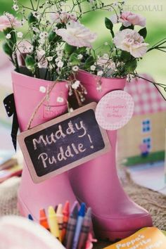 Styled by http://www.prettylittlevintage.com.au Princess Peppa's Picnic Party via Kara's Party Ideas http://KarasPartyIdeas.com #PicnicParty #PeppaPigParty #PartyIdeas