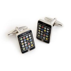 WeddingDepot.com ~ iPhone with Personalized Box ~ Think out of the box with our dashing selection of cufflinks featuring designs that are a bit out of the ordinary.