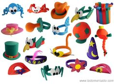 ideas de gorros para cotillon casamiento - Buscar con Google Diy And Crafts, Crafts For Kids, Candyland, Headdress, Kids And Parenting, Puppets, Headbands, Projects To Try, Birthday Parties
