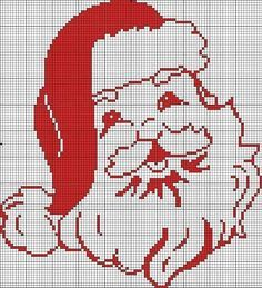 santa claus cross stitch on pinterest - Pesquisa Google