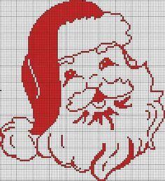 santa claus cross stitch on pinterest - Pesquisa Google