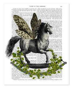 Look at this Rocking Horse Fly Dictionary Print on #zulily today!
