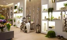 Zubini floralist store by Flussocreativo, Gussago Italy flowers