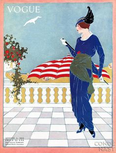 Vogue Covers by Helen Dryden Art Deco Fashion Illustrator...Vogue 1913