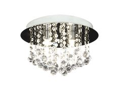 A wonderful lamp to brighten up the Hallway, that is without windows. Can't decide if I should have it with three or one light source Crystal Lights, Ceiling Lamp, Ceiling Lights, My Bar, One Light, Lighting, House Styles, Design, Inspiration
