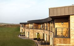 b3a8ecde0f The Point at #Polzeath, #Cornwall: #Curved, undulating #design blends