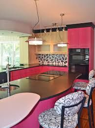 We have collected all our best Creative Kitchen Color Ideas in one place. These are our pictures collection about Creative Kitchen Color Ideas. Inspiration for Creative Kitchen Color Ideas Hunker 53 Creative Kitchen Color Ideas to Make Your Space Sh Eclectic Kitchen, Red Kitchen, Kitchen Paint, Home Decor Kitchen, Country Kitchen, Pink Cabinets, Kitchen Cabinets, Kitchen Island, Popular Kitchen Colors