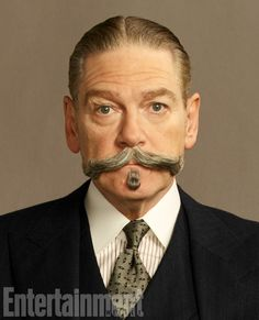 The Detective: Kenneth Branagh as Hercule Poirot