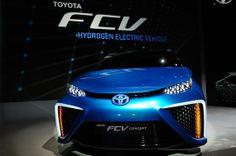 Toyota va lancer sa voiture «mutante» à l'hydrogène. #ces2014