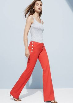 Show off your sea legs in sailor pants - Summer 2014