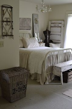 Future Guest Bedroom-  reminds me of Anne of Green Gables for some reason.