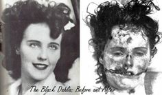 """Black Dahlia"". Hollywood's most famous murder case took place in post-war Los Angeles #famousmurders"