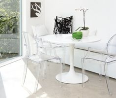 Philippe Starck Louis Ghost Chair & Decorating