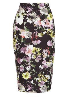F&F Floral Print Scuba Pencil Skirt - £25 #GoingOut